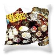Fish 504-11-13 Marucii Throw Pillow by Marek Lutek