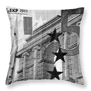 Five Euro Throw Pillow by Semmick Photo