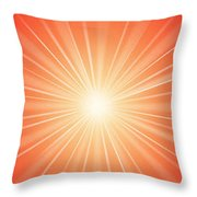 Flash - 1 Throw Pillow by Philip Ralley