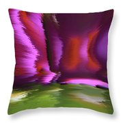 Flight Of The Imagination Throw Pillow by Gerlinde Keating - Keating Associates Inc