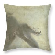 Floating Throw Pillow by Patricia Hofmeester