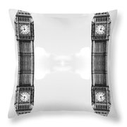 Floating Towers Throw Pillow by Jessica Panagopoulos