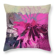Floral Fiesta - S31at01b Throw Pillow by Variance Collections