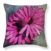 Floral Fiesta  Throw Pillow by Variance Collections