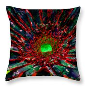 Floral Revolution 1 Throw Pillow by Angelina Vick
