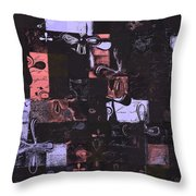 Florus Pokus 01e Throw Pillow by Variance Collections