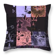 Florus Pokus 02e Throw Pillow by Variance Collections