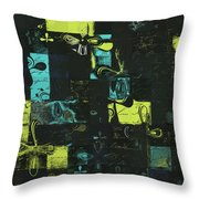 Florus Pokus A01 Throw Pillow by Variance Collections