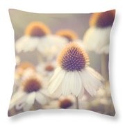Flowerchild Throw Pillow by Amy Tyler