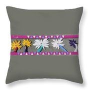 Flowers Of Spring Throw Pillow by Robert Margetts