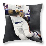 Floyd Little Throw Pillow by Don Medina