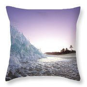 Foam Wall Throw Pillow by Sean Davey