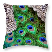 Folded Wings Throw Pillow by Angelina Vick