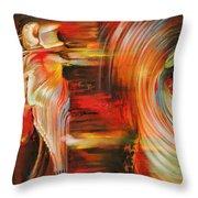 Folklore Throw Pillow by Karina Llergo Salto