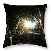 For United We Stand Throw Pillow by Diana Angstadt