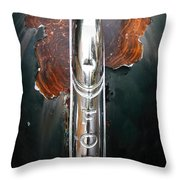 Ford 11 Throw Pillow by Amanda Stadther