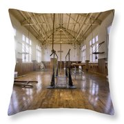 Fordyce Bathhouse Gymnasium - Hot Springs - Arkansas Throw Pillow by Jason Politte