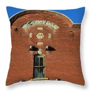 Forgotten Brewery Throw Pillow by Luther   Fine Art