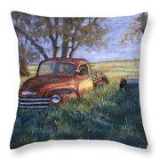 Forgotten But Still Good Throw Pillow by Jerry McElroy