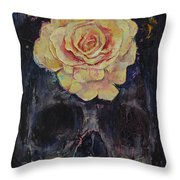 Forgotten Throw Pillow by Michael Creese