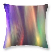 Fountains Of Color Throw Pillow by James Eddy