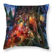 Foxglove Ball Throw Pillow by Aimee Stewart