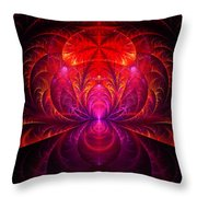 Fractal - Jewel Of The Nile Throw Pillow by Mike Savad