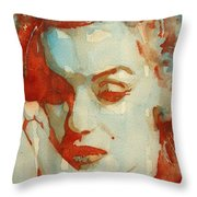 Fragile Throw Pillow by Paul Lovering