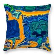 Framed Throw Pillow by Omaste Witkowski