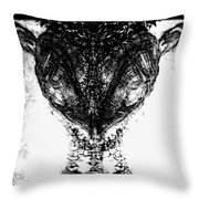FRED Throw Pillow by Yevgeni Kacnelson