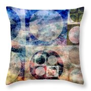Free From Rules Throw Pillow by Angelina Vick