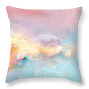 Freedom - Abstract Art Throw Pillow by Jaison Cianelli