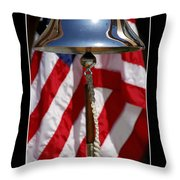 Freedom Inspirational Quote Throw Pillow by Stocktrek Images