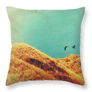 Freedom Vintage Throw Pillow by Angela Doelling AD DESIGN Photo and PhotoArt