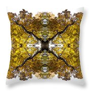 Freefall Throw Pillow by Debra and Dave Vanderlaan