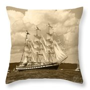 From Russia With Love Throw Pillow by Kym Backland