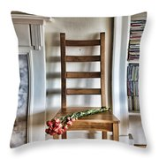 Front Room Throw Pillow by Craig B