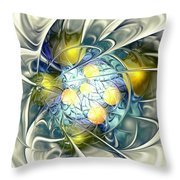 Frozen Dessert Throw Pillow by Anastasiya Malakhova