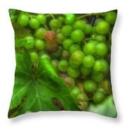 Fruit Bearing Throw Pillow by Heidi Smith