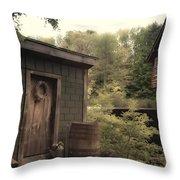 Frye's Measure Mill Throw Pillow by Joann Vitali