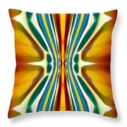 Fury Pattern 6 Throw Pillow by Amy Vangsgard