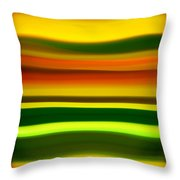 Fury Sea 4 Throw Pillow by Amy Vangsgard