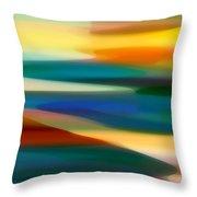 Fury Seascape 4 Throw Pillow by Amy Vangsgard