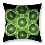 Fusion  Throw Pillow by Jason Padgett