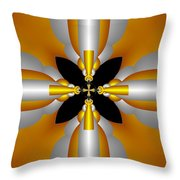 Futuristic Throw Pillow by Svetlana Nikolova