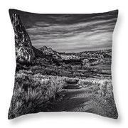 Garden Of The Gods 20 Throw Pillow by F Leblanc