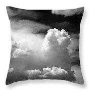 Garfield In The Skies Throw Pillow by Christine Till