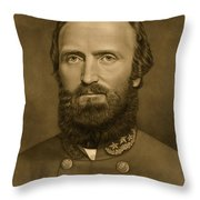 General Stonewall Jackson 1871 Throw Pillow by Anonymous