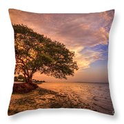 Gentle Whisper Throw Pillow by Marvin Spates