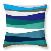Geometric 16  Throw Pillow by Mark Ashkenazi